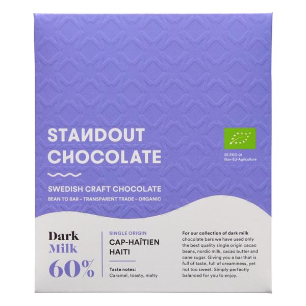 Standout Chocolate - PISA Coop, Haiti Dark Milk 60%