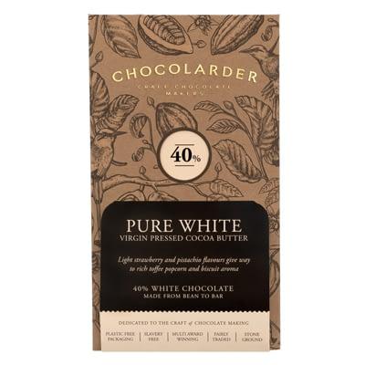 Chocolarder - 38% Pure White Chocolate