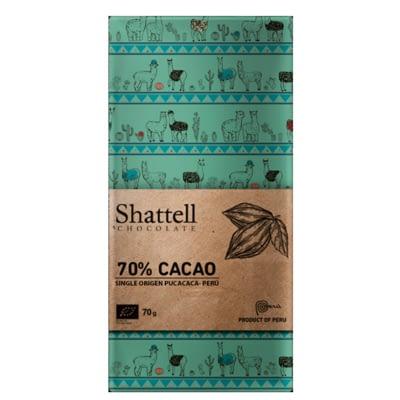 Shattell - Cacao Tarapoto Pucacaca 70%