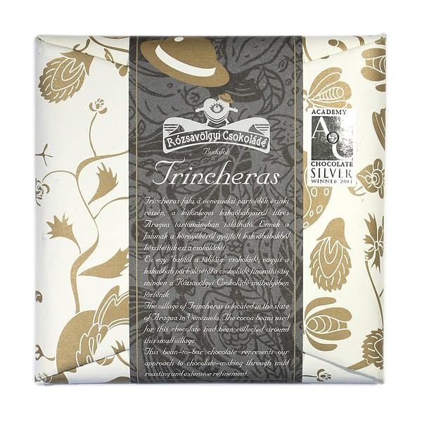 Rózsavölgyi Csokoládé Trincheras 70%
