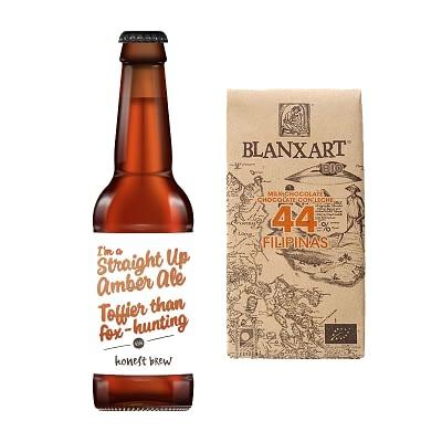Blanxart Chocolate and Honest Brew Beer