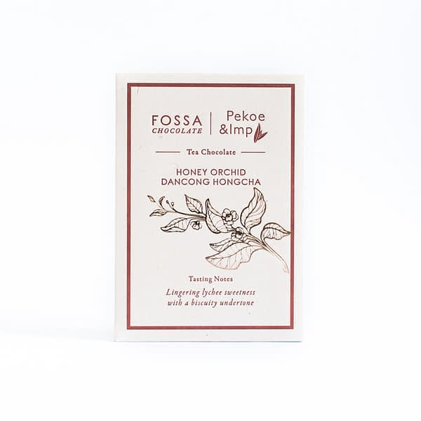 Fossa - Honey Orchid Dancong Hongcha Tea Milk Chocolate