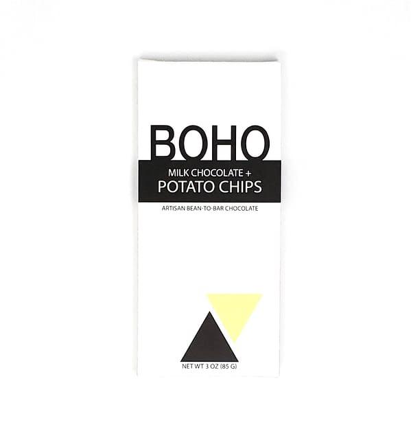 Boho - Milk Chocolate with Potato Chips