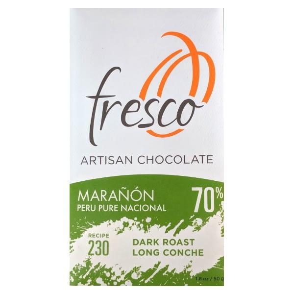 Fresco - 230 Peru, Maranon, Dark Roast, Long Conche 70% Dark