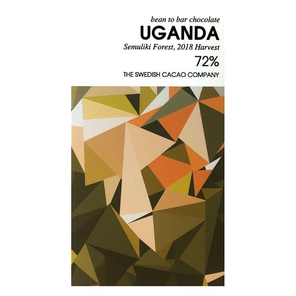 Svenska Kakaobolaget - 72% Semuliki Forest, Uganda Dark Chocolate