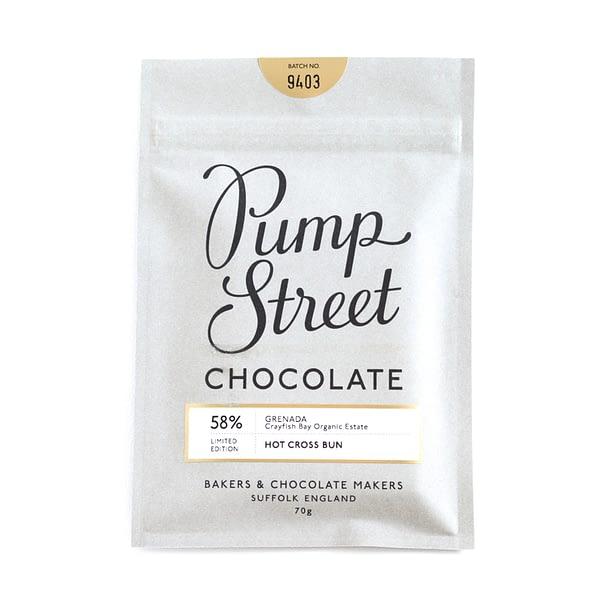 Pump Street Chocolate - Hot Cross Bun Dark Chocolate