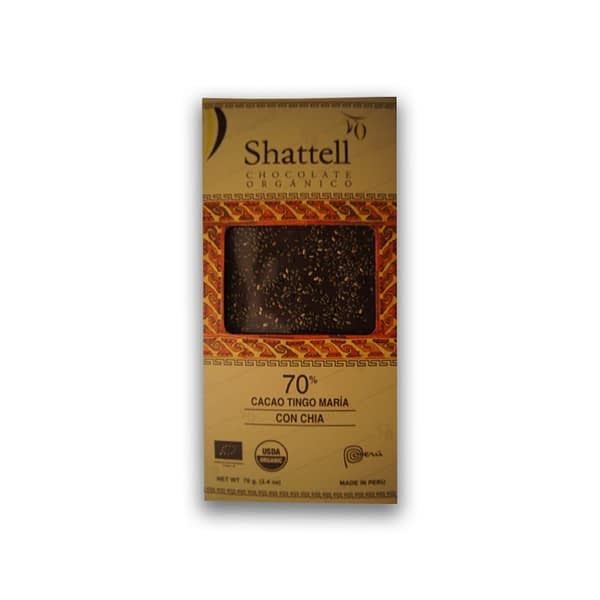 Shattell - Tingo Maria 70% with Chia