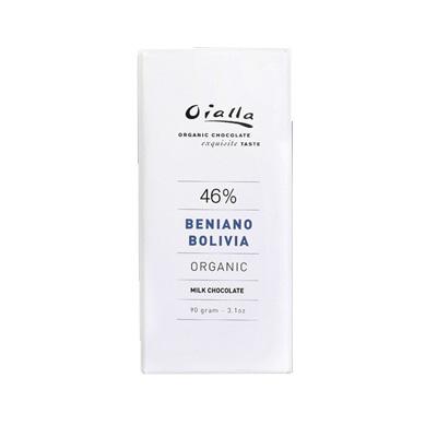 Oialla - Beniano Bolivia Milk Chocolate 46%