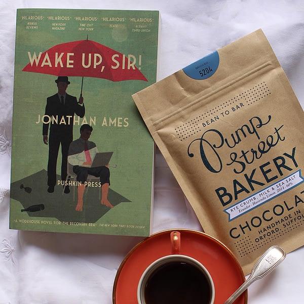 A Book And A Bar: Wake Up, Sir!