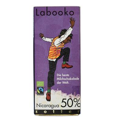 Zotter Nicaragua 50% Milk Chocolate