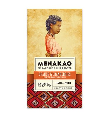 Menakao dark with orange and cranberries