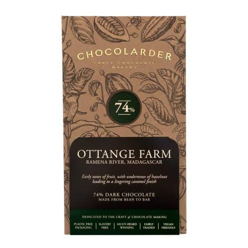 Chocolarder - Ottange Farm, Madagascar 74% Dark Chocolate