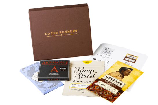 Monthly Chocolate Subscription Club | The World's best chocolate delivered to you door | Cocoa Runners Craft Chocolate