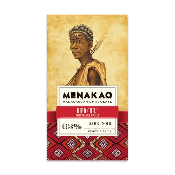 Menakao - Dark Chocolate With Bird Chili