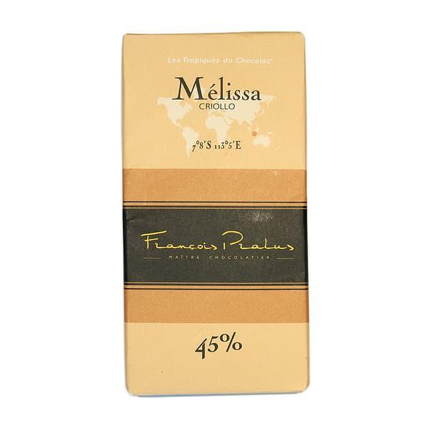 François Pralus - Mélissa 45% Chocolate Bar with Milk