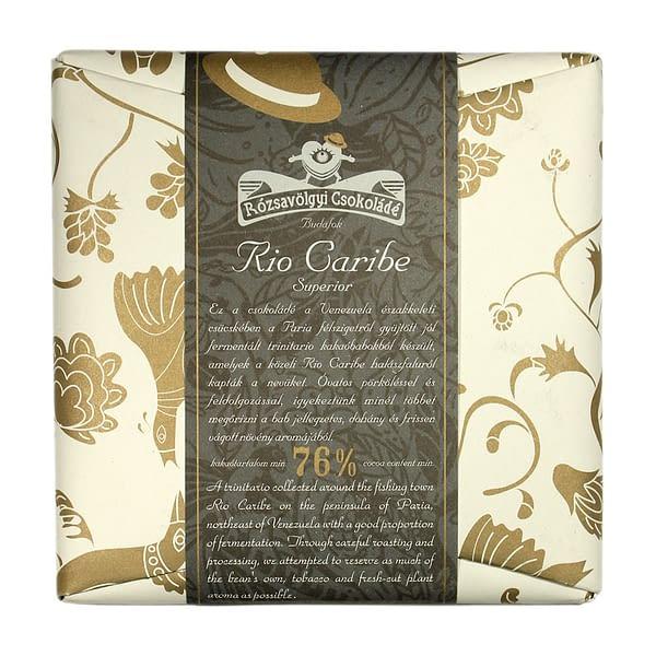 Rózsavölgyi Csokoládé Rio Caribe Superior 76%