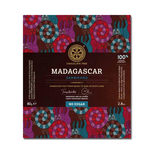 Chocolate Tree - 100% Madagascar Ambanja