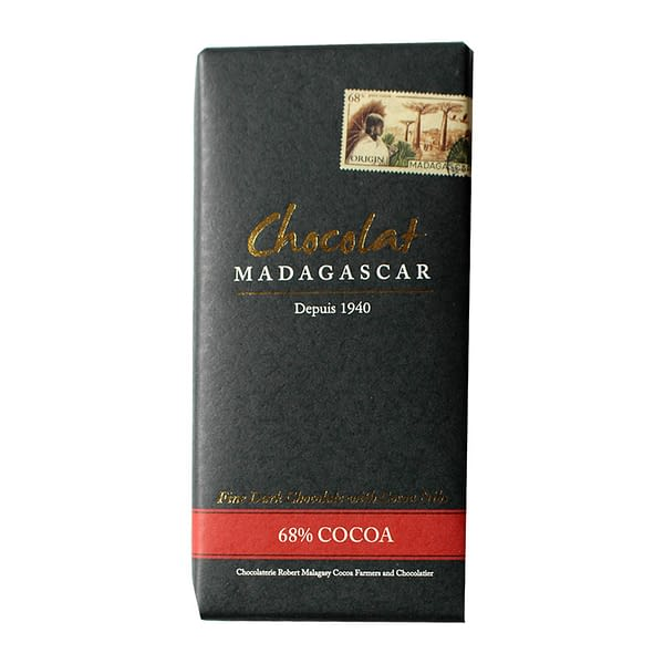 Chocolat Madagascar - 68% with Cocoa Nibs