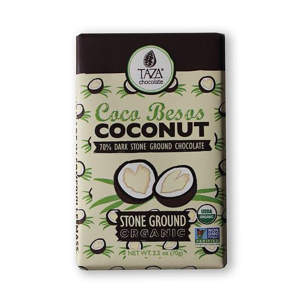 Taza Chocolate Mexicano Coconut Besos 70%