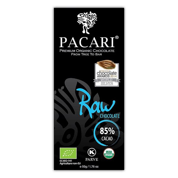 Pacari Raw (unroasted) 85%