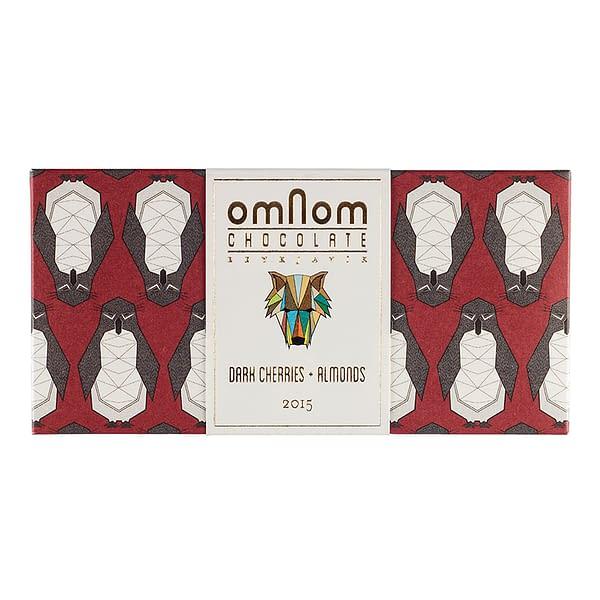 Omnom Dark Cherries + Almonds 2015