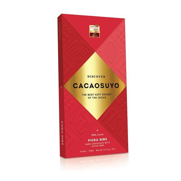 Cacaosuyo - Piura 70% with Nibs