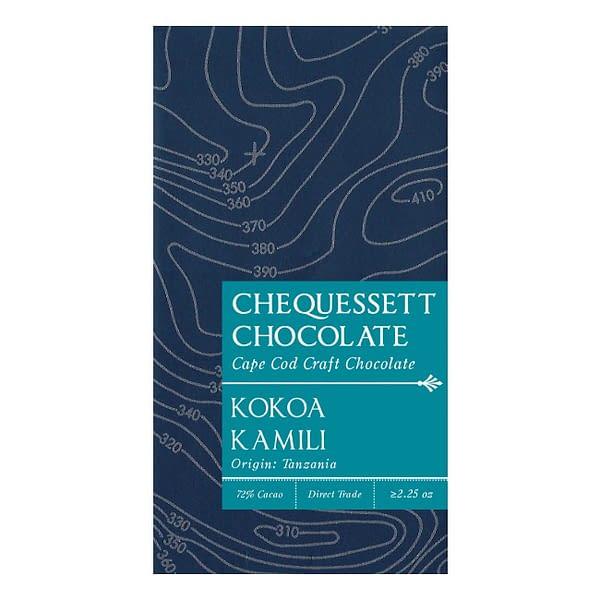Chequessett - Kokoa Kamili, Tanzania 72% Dark Bar