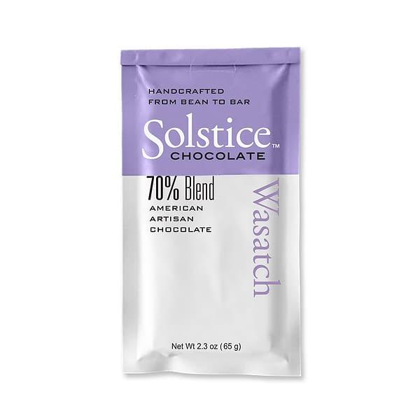 Solstice - Wasatch Blend Bar 70% Dark Chocolate