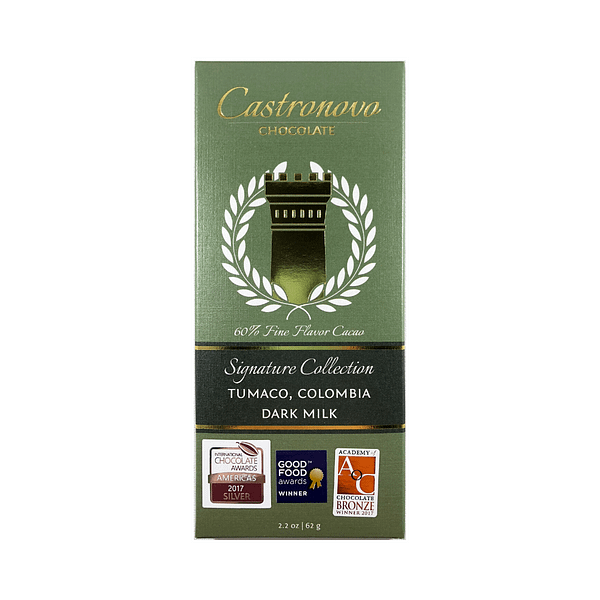 Castronovo - Tumaco Colombia 60% Dark Milk Chocolate
