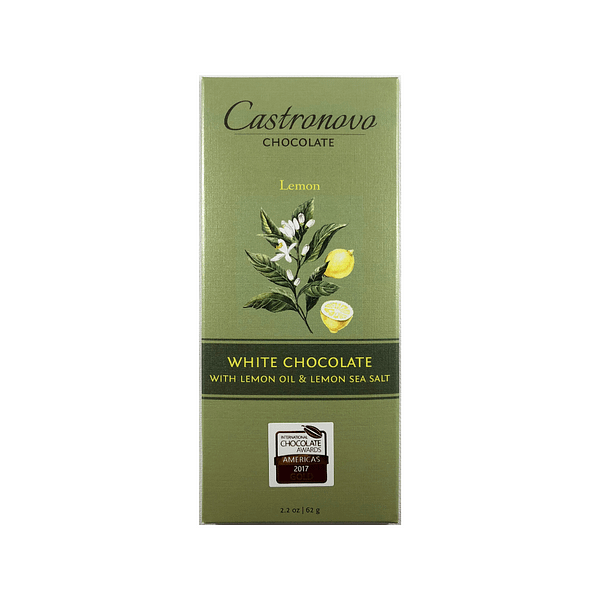 Castronovo - White Chocolate with Lemon Oil & Sea Salt
