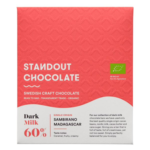 Standout Chocolate - Sambirano Valley, Madagascar Dark Milk 60%
