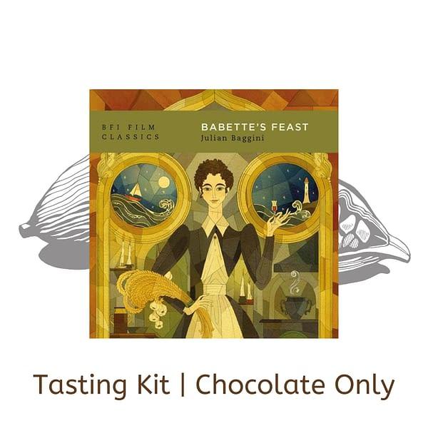 Virtual Chocolate Tasting Kit with Julian Baggini