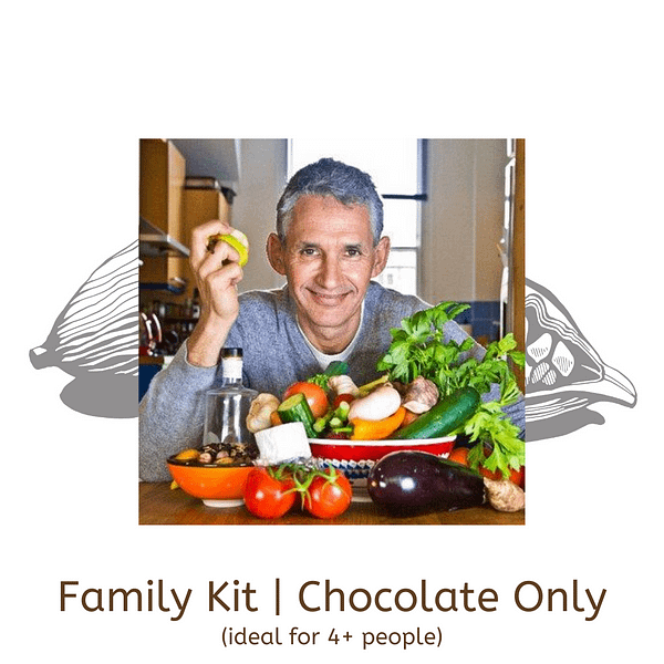 Virtual Chocolate Tasting Kit with Tim Spector | Family Kit (Chocolate only)