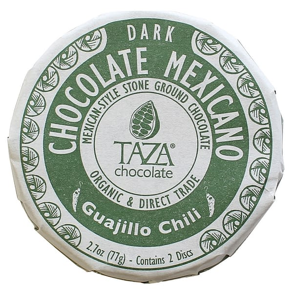 Taza Chocolate Mexicano Guajillo Chili