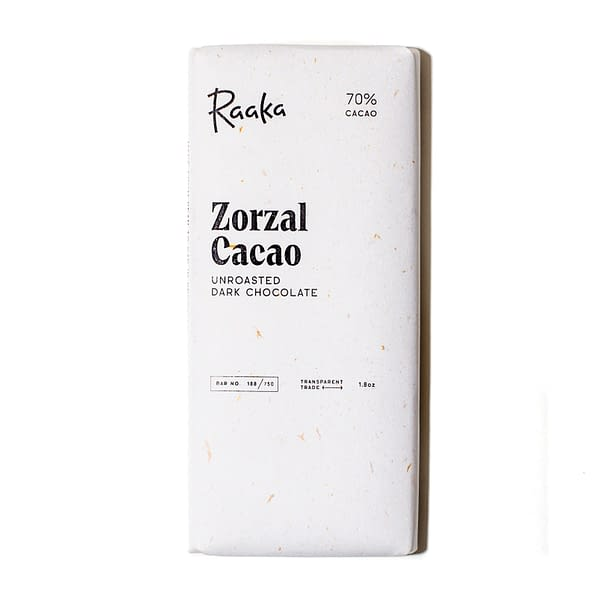 Raaka - Zorzal Estate, Dominican Republic Unroasted 70% Dark