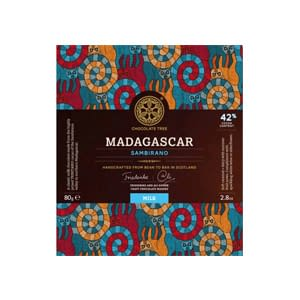 Chocolate Tree, 42% Madagascar Sambirano Milk