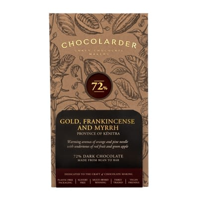 Chocolarder - Gold, Frankincense, and Myrrh