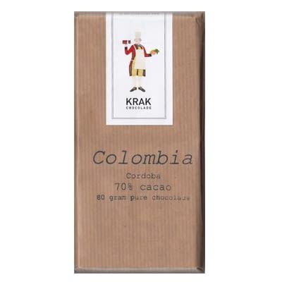 Krak Chocolade - Colombia Cordoba 70% Dark Chocolate