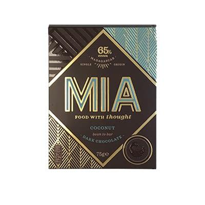 MIA - 65% Dark Chocolate with Coconut (Carton of 10)