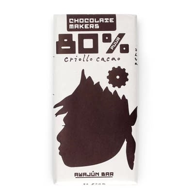 Chocolate Makers Awajún Peru Criollo 80%