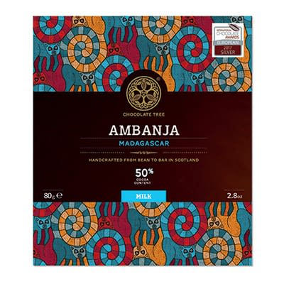 Chocolate Tree - 50% Ambanja Madagascar Milk Chocolate