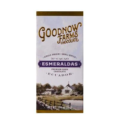 Goodnow Farms Chocolate - Esmeraldas, Ecuador 70%