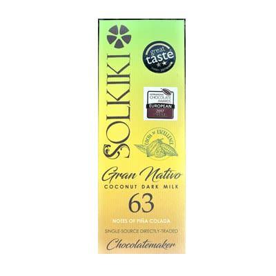 Solkiki - Gran Nativo, 63% Coconut Dark Mylk