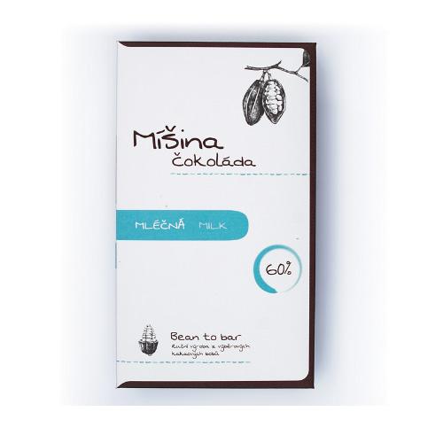 Mišina Čokoláda - 60% Dark Milk Chocolate