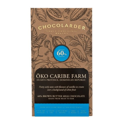 Chocolarder - Oko Caribe, 60% Brown Butter Milk Chocolate