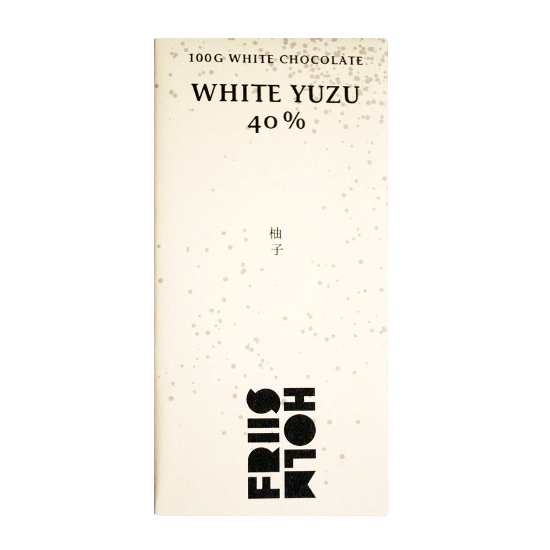 Friis-Holm- Yuzu Infused 40% White Chocolate