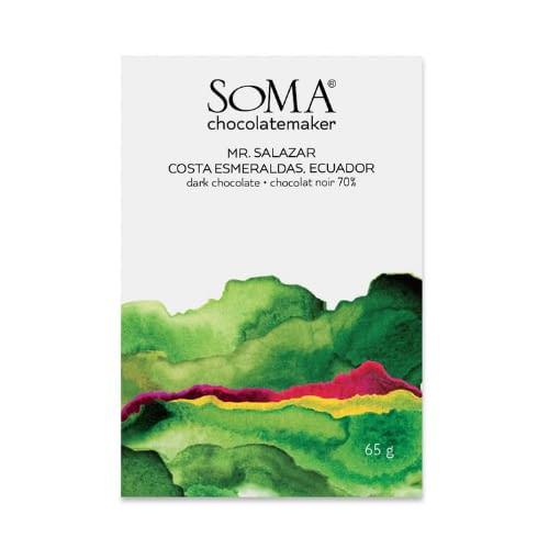 Soma - Mr Salazar, Costa Esmerelda 70% Dark Chocolate