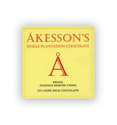 Akesson's Brazil Dark Milk 55