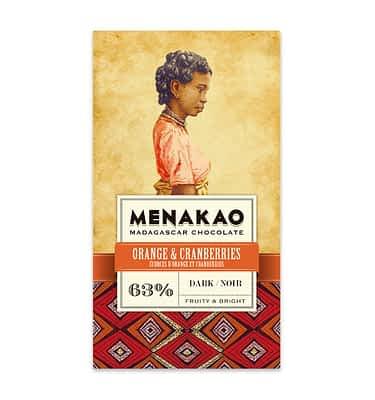 Menakao dark with orange and cranberries