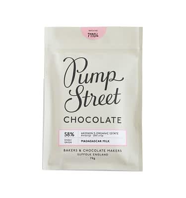 Pump Street Chocolate Madagascar Milk